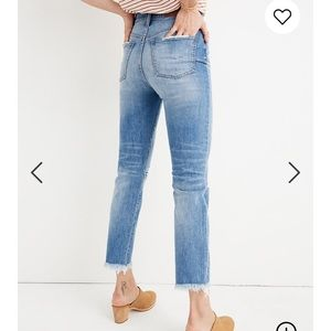 Madewell Perfect Vintage Jean: Comfort Stretch